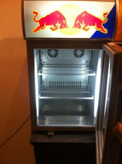 Redbull counter-top merchandiser Mini-Fridge