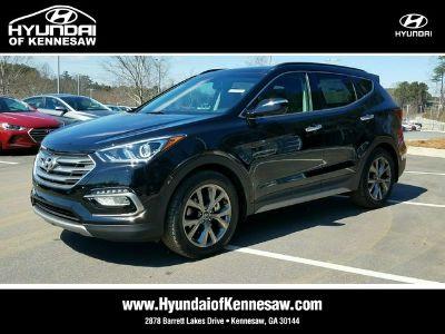 2018 Hyundai Santa Fe Sport 2.0T ULTIMATE AUTO (Twilight Black)