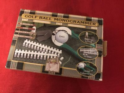 Gold Gifts & Gallery - Gold Ball Monogtamer. New in Box