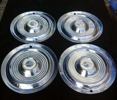 "Find 1954-55 Oldsmobile 15"" Hubcap Set Of Four motorcycle in Garland, Texas, US, for US $89.00"