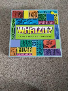 Whatzit? Board Game