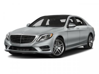 2016 Mercedes-Benz S-Class S550 4MATIC (White)