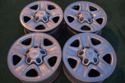 "Sell 18"" TOYOTA TUNDRA STEEL WHEELS / RIMS WITH THE CENTER CAPS motorcycle in Houston, Texas, US, for US $299.00"