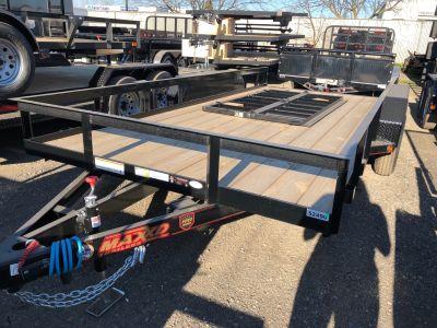 "2018 MAXXD TRAILERS 14' X 83"" ANGLE TA Utility Trailers Elk Grove, CA"