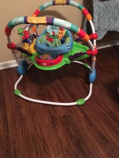 Gently used baby bouncer