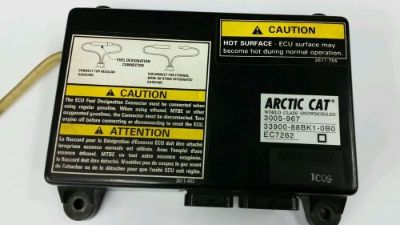 Sell 2002 Arctic Cat ZR600 EFI Computer ECU SQUARE 33900-88BK1-0BO motorcycle in Albany, Minnesota, United States, for US $120.00