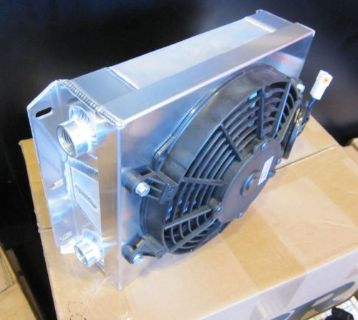 "Sell CBR PERFORMANCE COOLING PRODUCTS SMALL OFF-ROAD OIL COOLER -10JIC W/ 9"" SPAL FAN motorcycle in Livermore, California, United States, for US $429.99"
