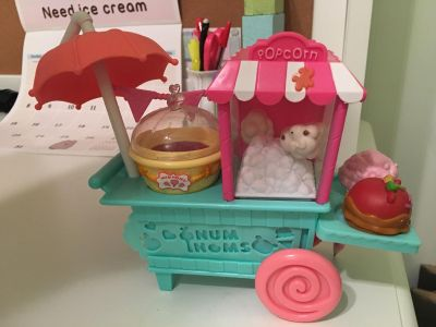 Num Noms Desk set -comes with pencil, stamp, ink pad, stencil and erasers $5 ppu