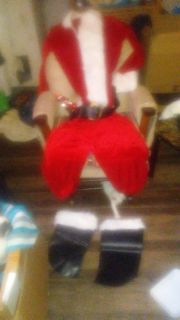 Santa Claus suit complete/wig and beard