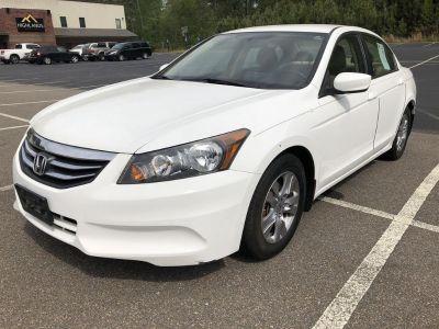 2012 Honda Accord SE (White)