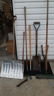 MIXED LOT OF YARD TOOLS all for $12