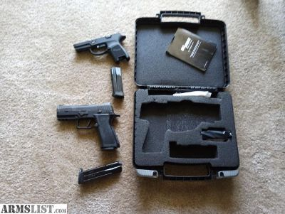 For Sale/Trade: Sig Sauer P320 X Carry with extras