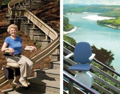 Rental Stairlifts offered by O'Neill Stairlifts in Maryland
