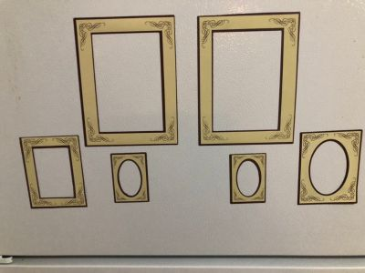 6 Magnetic Picture Frames
