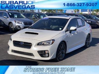 2017 Subaru WRX Limited (Crystal White Pearl)