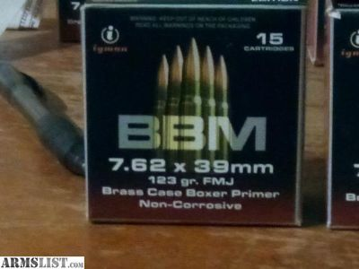 For Sale: BBM 7.62x39
