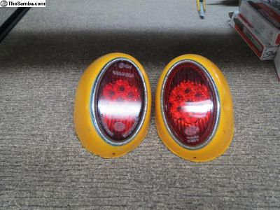 Snow Flake Tail Light Set