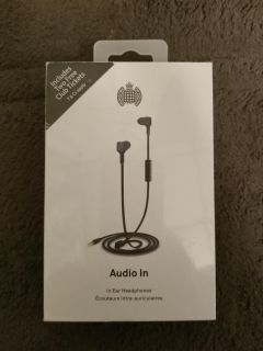 Ministry Of Sound Audio In Ear Headphones