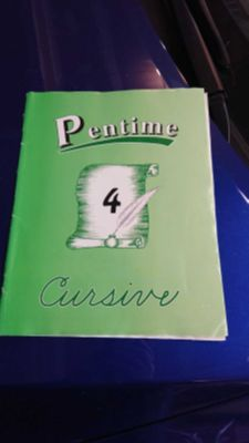 Pentime cursive 4th grade