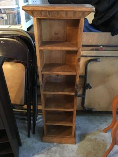 Sturdy shelves - wood stain