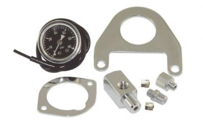 Sell OIL PRESSURE GAUGE KIT WITH MOUNT HARLEY TWIN CAM OIL PRESSURE GAUGE & MOUNT motorcycle in Smyrna, Tennessee, United States, for US $48.95