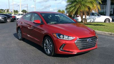 2018 Hyundai Elantra Limited (Scarlet Red Pearl)