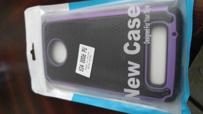 Case and screen protector for Moto z3