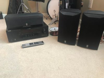 Yamaha surround system package