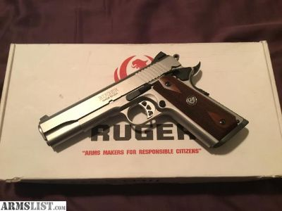 For Sale/Trade: Ruger SR1911 45ACP