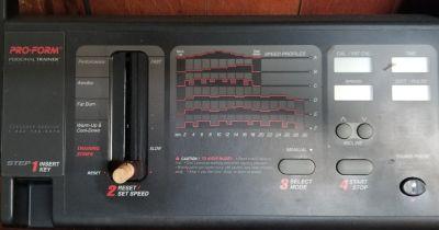 Pro-Form 580si Space Saver treadmill