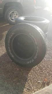 ***Need Gone*** 4 truck tires used