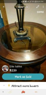2 end tables from FFO