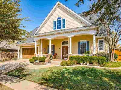 9120 Blanco Drive Lantana Four BR, Inviting 'old-world' front