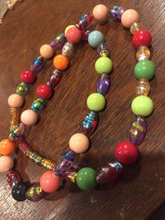 Costume necklace (or use for beads!)