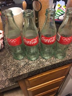 Coke bottle collector items