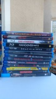 BluRay DVD Movies