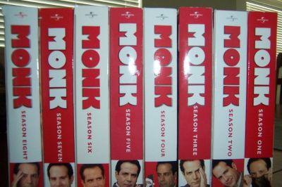 Monk DVD Complete Series