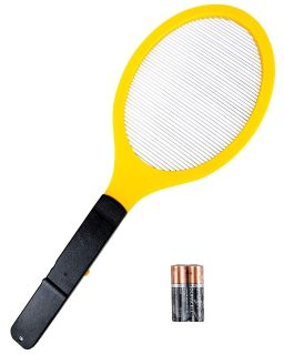 Elucto Large Electric Bug Zapper Fly Swatter Zap Mosquito NEW