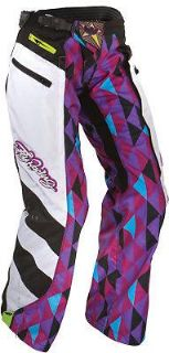 Sell 2012 Fly Racing Women's Kinetic Over-Boot Pants (PURPLE/TEAL) Purple/Teal/Black motorcycle in Loudon, Tennessee, US, for US $97.27