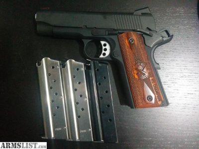 For Sale: Springfield 1911 RANGE OFFICER CHAMPION 9mm