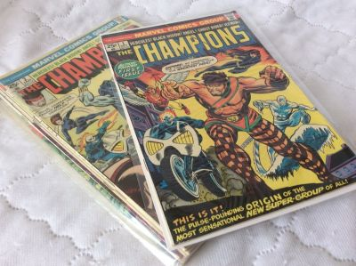 Comics: The CHAMPIONS Collection