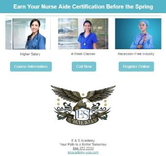 Earn Your Nurse Aide Certification Before the Spring Ends