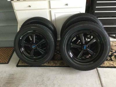 Black, Cragar, Wheels, Rims, Tires, 17, 18, Chevy