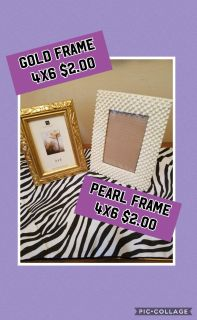 Gold And Pearl Frames