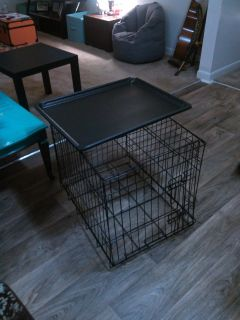 """Large Dog Crate, 18""""x18""""x24"""""""