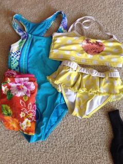 Bathing suits size 6x