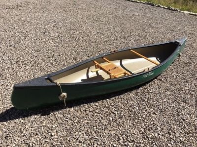Old Town 12 ft Pack Canoe - Great Condition - with Accessories