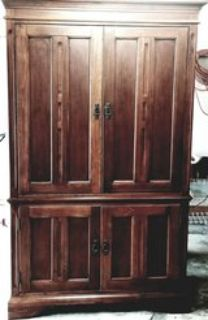All wood Armoire