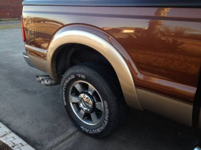 Ford Super-Duty Fender Flares