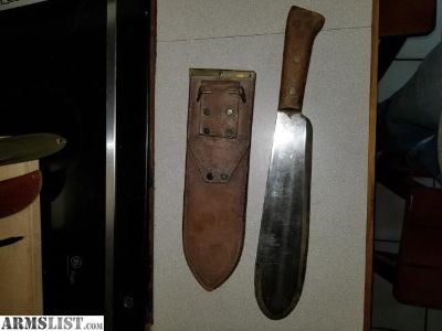 For Sale: Ww2 bolo knife